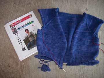 Mr. Blue Jeans in Progress