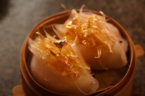 金箔鮮蝦魚翅餃