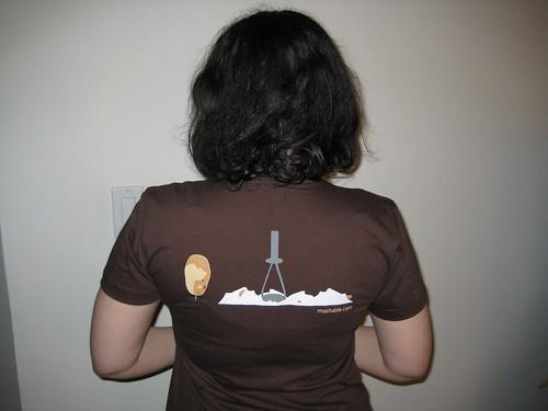 Startup Schwag Mashable T-Shirt (Back)