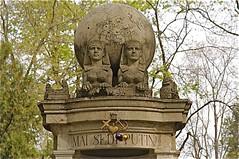 Iulia Hasdeu Memorial - Bellu Orthodox Cemetery Bucharest (londonconstant) Tags: monument cemetery french unesco worldheritagesite mausoleum romania poet writer orthodox bucharest playwright bellu costi iuliahasdeu hasdeu londonconstant bphasdeu