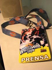 WWE en Chile!