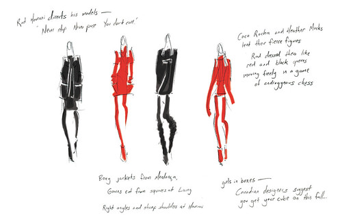 rad hourani fall 08 sketchbook