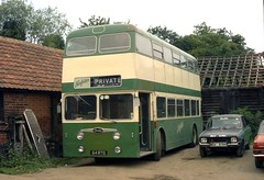 Interesing Independent. Norfolks of Nayland. (Renown) Tags: bus suffolk coach daimler fleetline nottinghamcitytransport northerncounties nottinghamcorporation crg6 norfolksofneyland 64rto stokebyneyland