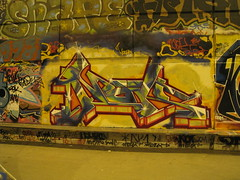 Graffiti Skatepark Bercy Mur 2