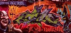 gaze-1995 (GraffNet) Tags: street city nyc newyorkcity urban newyork color art wall writing word handle graffiti design 3d code mural paint artist message name tag letters style font type spraypaint alphabet lettering graff piece nickname