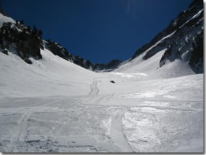 Vallone Superiore dell'Alpette e il Passo Laroussa