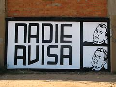 fotogramas (nadie en campaña) Tags: barcelona white black stencil roller politica plantilla nadie rodillo