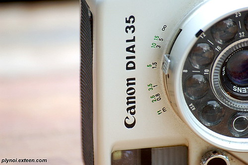 My Old Canon Dial 35 Zoom