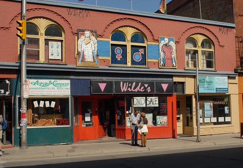 Wilde's gay porn and bondage shop in Ottawa, Ontario, Canada.