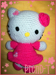 Una linda Gatita Amigurumi (PrenD-T) Tags: hellokitty crochet kitty amigurumi tejido ganchillo prendt