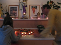 A candle for Tibet
