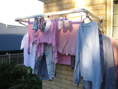 Washing out to dry