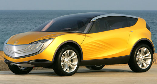 Mazda Hakaze Prototype Concept