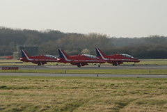 Thank You - Red Arrows, Linton on Ouse (Chris McLoughlin) Tags: redarrows lintononouse rafredarrows