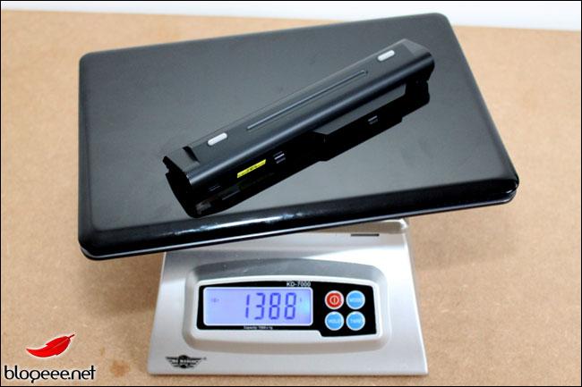 MSI WIND U210 : 1388 grammes avec 6 cells