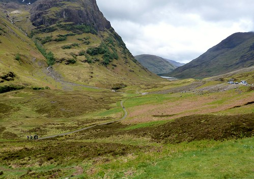 Highland Scenery at Glencoe