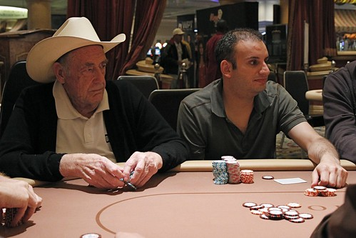9350 Doyle Brunson and Abe Mosseri