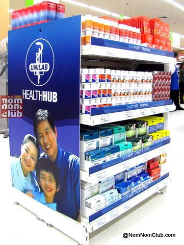 Unilab medicines conveniently located inside the grocery
