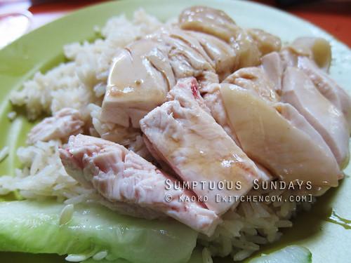 Sumptuous Sundays: Tian-tian Hainanese Chicken Rice