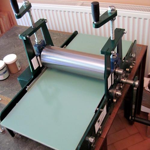 New printing press