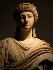 Poppaea Sabina (David R. Crowe) Tags: sculpture history europe places greece artandcraft greekhistory