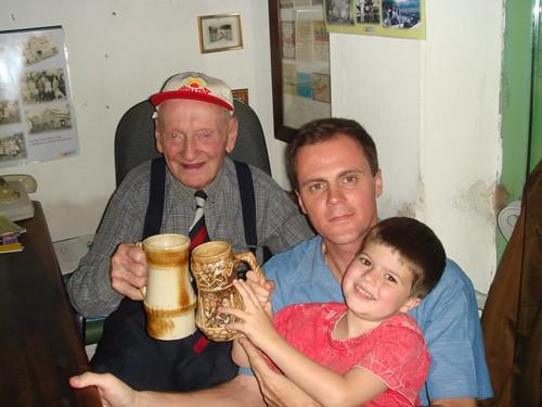 Loeffler, Eu e Natan na Cervejaria