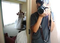 threesixtyfive 41/365 (yuisotozaki) Tags: wedding portrait reflection self dress nikkor afs f3545g dx ifed zoomnikkor afsdxzoomnikkor1870mmf3545gifed threesixtyfive
