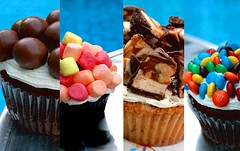 what's your flavor ? (7oO7oO) Tags: pink blue red orange green yellow cupcakes yummy mms chocolate sneakers kuwait marshmellow 2007 maltesers cuppies cuppy 7070 jujus 7oo7oo jujuscupcakes