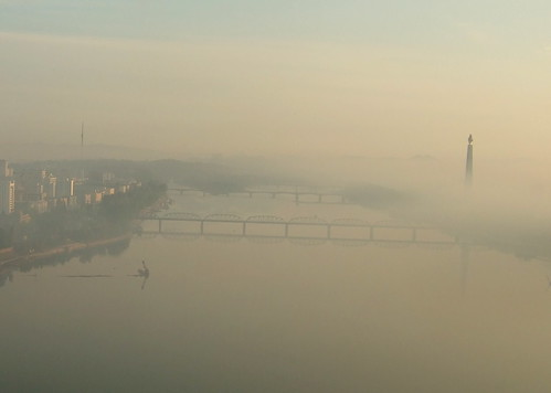 Pyongyang in the Morning