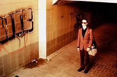 21st century boy (Pahomova) Tags: nikonn80 slide minsk man fujichromevelvia100fprof film fave fashion europe eastend crossprocessing cross city belarus beautiful 2007 picture photo pic shot creative interesting