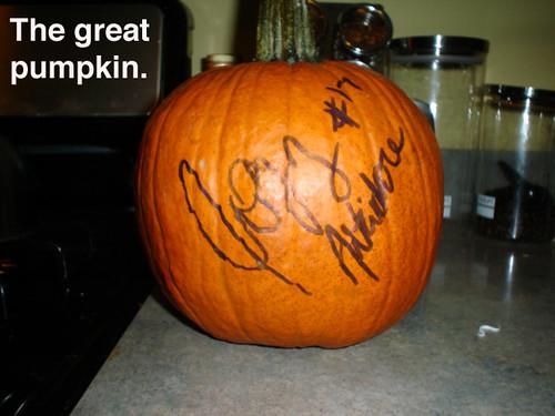 Jozy Altidore's Pumpkin