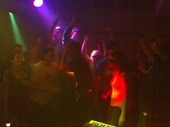 Egotronic @ Eel Pie Publikum auf der Bühne