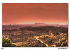 Barcelona Skyline II