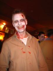 Zombie smile
