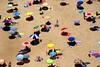 Ombrelloni (the bbp) Tags: sea summer sun beach portugal sand mare estate sole spiaggia sabbia nazarè thebbp colorphotoaward colourartaward