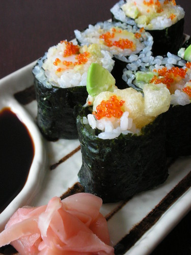 sushi- spicy tempura roll