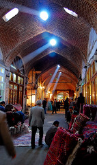 Carpets Trading in Tabriz Bazaar, Iran (friend_faraway *) Tags: travel men shopping carpet persian iran market tabriz azarbaijan peopple  anawesomeshot tabrizbazaar