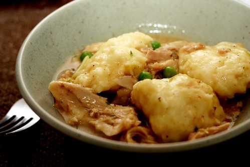 chicken dumplings Chicken and dumplings