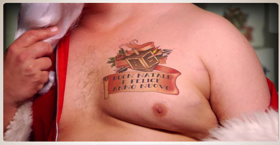 Auguri tatuati