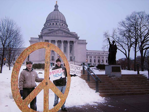 Vigil for Peace at the State Capitol