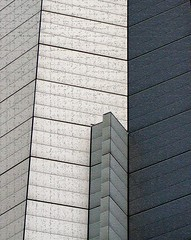 Geometry (tanakawho) Tags: city urban building geometric wall architecture tokyo gray line roppongi tanakawho