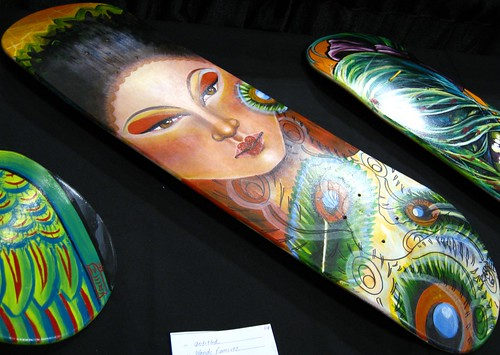 Skateboard Tattoo Art by Wendi Ramirez by HeadOvMetal. From HeadOvMetal