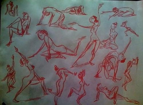 gesture drawing 2008 1