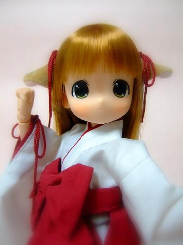 巫女服鈴鈴3
