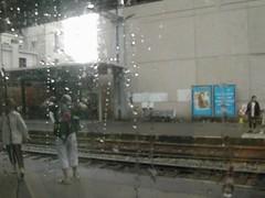 TGV駛經了某個雨天