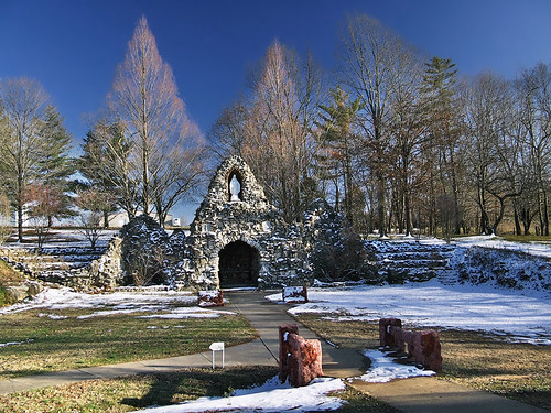 Saint Mary of the Barrens Roman Catholic Church, in Perryville, Missouri, USA - grotto