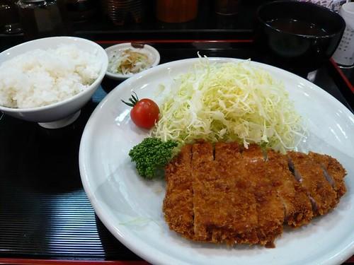 Pork cutlet, Katsuretsuan, Yokohama