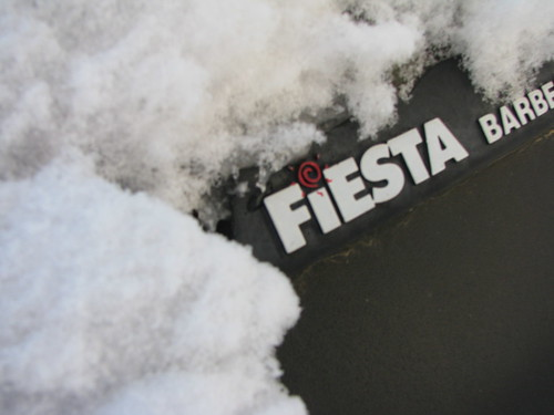Fiesta in snow