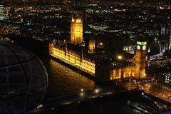 (PetrolHeadBC) Tags: london eye night view bigben thamesriver