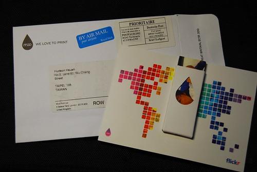 Moo卡信封與包裝